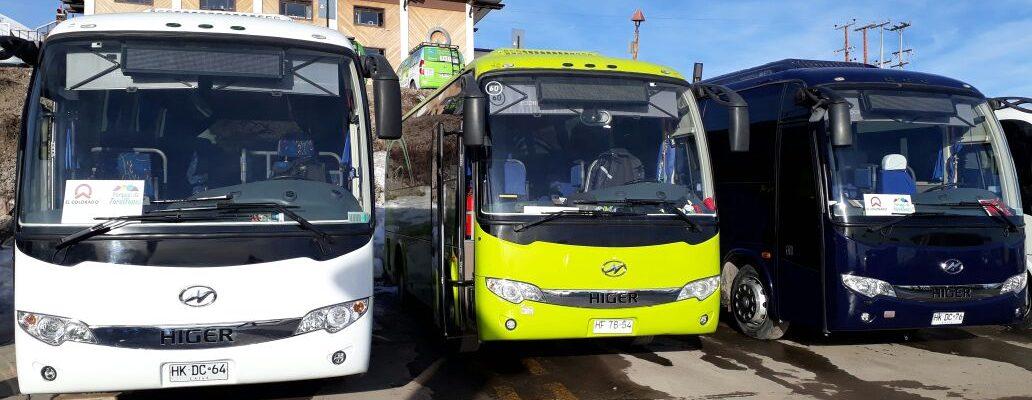 (Español) Buses nuevos